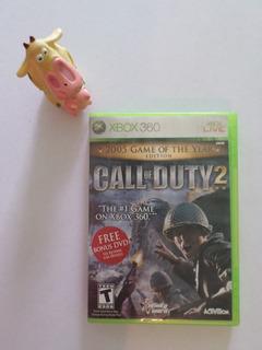 Call Of Duty 2 Game Of The Year Edition Xbox 360 Garantizado
