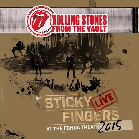 The Rolling Stones - Sticky Fingers Live 2015 (cd+dvd)