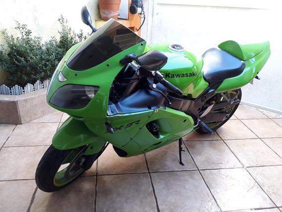 Kawasaki Ninja Zx9r Verde Para Colecionador