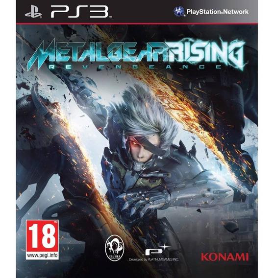 Jogo Metal Gear Rising (ps3) Usado