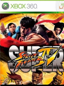 Super Street Fighter 4-xbox 360-midia Digital