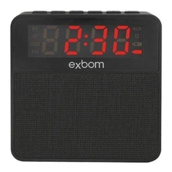 Radio Relógio Digital Bluetooth Usb Sd Mp3 Fm Despertador