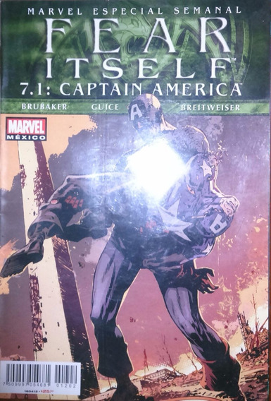 Fear Itself 7.1: Captain America Oneshot Televisa
