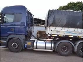 Scania R480 6x4 Ano 2014 Com Carreta Vanderleia Graneleira