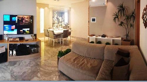 Apartamento Com 4 Quartos Para Comprar No Praia Da Costa Em Vila Velha/es - Dni1550