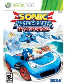 Sonic All Star Racing Transformed Xbox 360 Mídia Físi