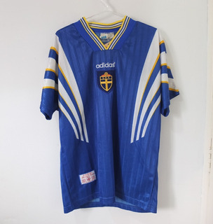 Camisa Suécia 1996-1997 adidas Clássica