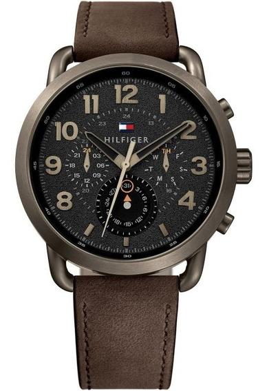 Reloj Tommy Hilfiger 1791290 Cuero 45mm Otros Fossil