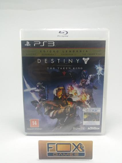 Ps3 Jogo Destiny The Taken King