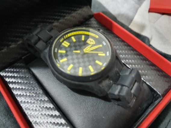Reloj Ferrari Original Caucho
