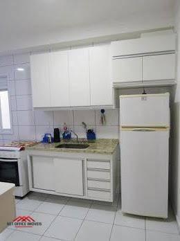 Apartamento Com 3 Dormitórios À Venda, 90 M² Por R$ 435.000 - Edifício Terrazza - Parque Industrial - São José Dos Campos/sp - Ap1851