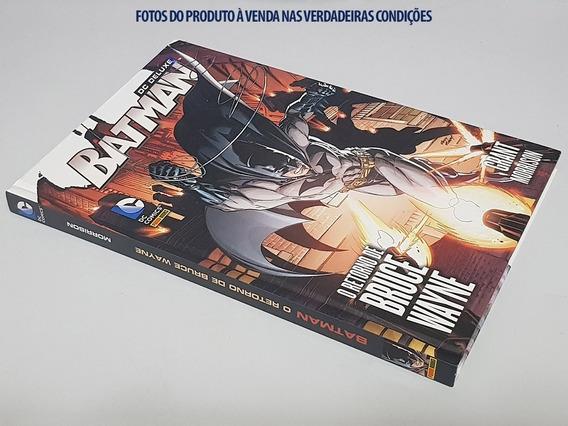 Livro Capa Dura Dc Comics: Batman - O Retorno De Bruce Wayne