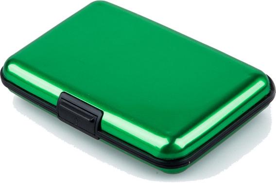 Tarjetero Billetera Metalica Aluminio - Proteje Tarjetas