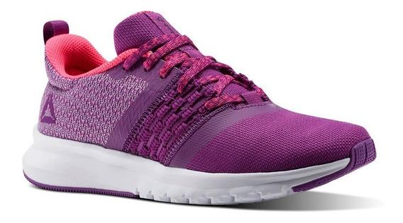Reebok Zapatilla Running Mujer Print Lite Rush Rosa Purpura