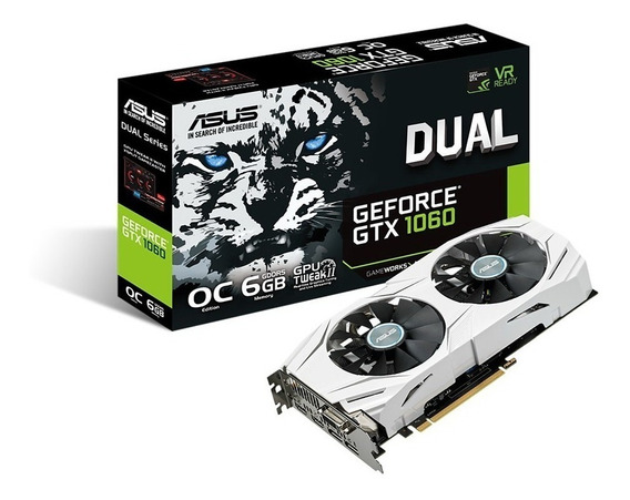 Placa Video Asus Gtx 1060 6gb Dual Gddr5