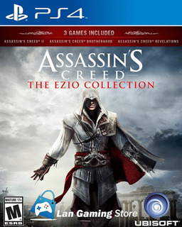 Assassins Creed Trilogy Ezio Collection Ps4 Con Poster