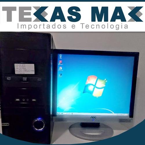 Computador Core I3 (2ª Gen.) , 4gb Ram E Hd De 250gb