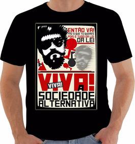Camiseta 1189 Raul Seixas Toca Raul Maluco Beleza Viva!