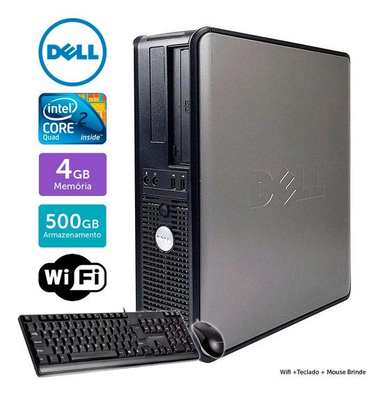Cpu Barato Dell Optiplex 780int C2quad 4gb 500gb Brinde