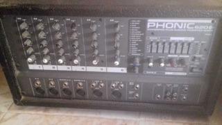 Cabezal 8 Canales Phonic 620 200w