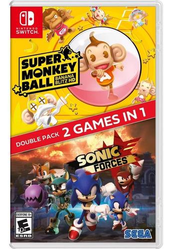 Imagen 1 de 9 de Sonic Forces Super Monkey Ball: Banana Blitz Hd Switch