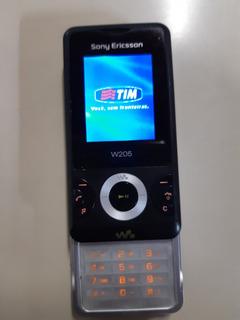 Celular Sony Ericsson W205 Operadora Tim Sem Acessórios