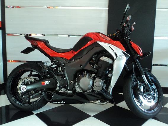 Kawasaki Z1000 Abs 2015 Laranja