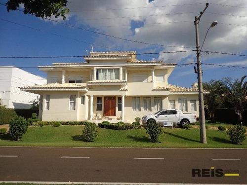 Casa Com 5 Dormitórios À Venda, 575 M² Por R$ 2.600.000,00 - Condomínio Residencial Golfe E Clube  - Araçoiaba Da Serra/sp - Ca0381