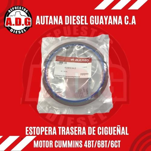 Estopera Trasera Cigueñal Ford Cargo 815/1721/4bt/6bt/6ct