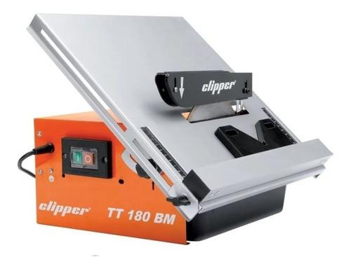 Máquina Cortadora De Cerámica Clipper Tt180 Bm 230v - Mm