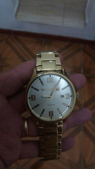 Relógio Beluka Gold Quiksilver