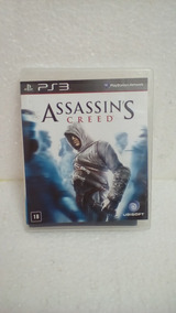 Jogo Assassins Creed Ps3 Game Seminovo Açao Aventura