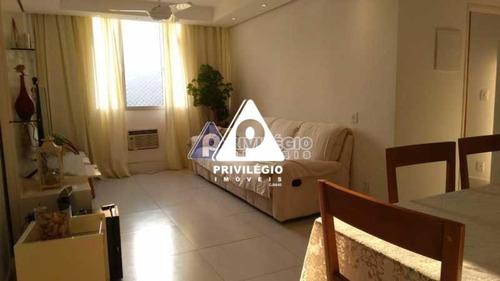 Apartamento À Venda, 3 Quartos, 1 Suíte, 1 Vaga, Laranjeiras - Rio De Janeiro/rj - 24262