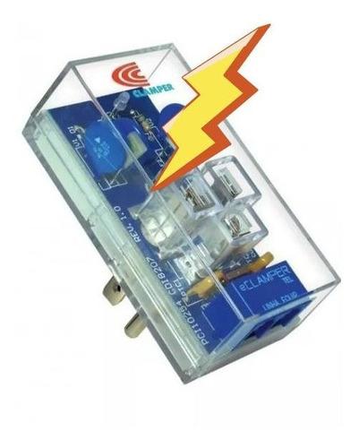Imagen 1 de 10 de Protector Contra Rayos Eléctrico Modem Telmex E-clamper