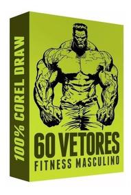 Estampas Fitness Alta Qualidade 60 Vetores