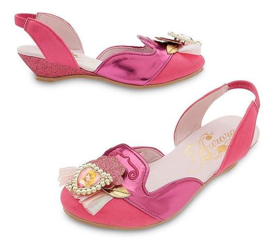 Sapato Princesa Aurora Original Da Disney P/entrega*