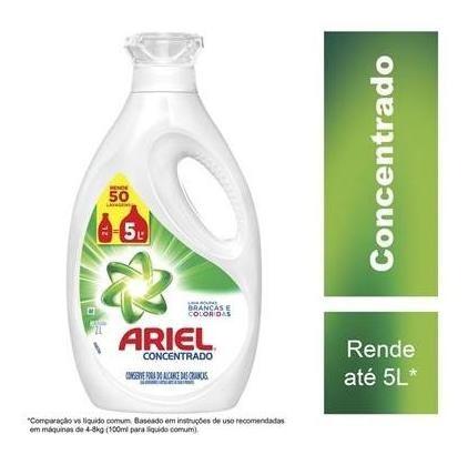 Sabão Liquido Ariel 50 Lavagens 2l