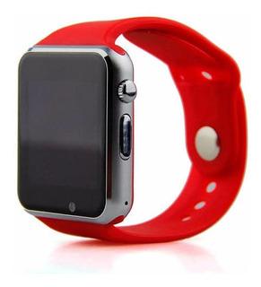 Smartwatch A1 Vermelho Em Promoção