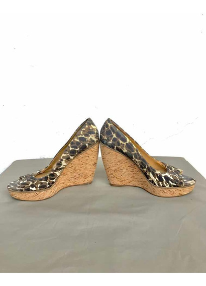 Zapatos Nine West Taco Alto Camuflados