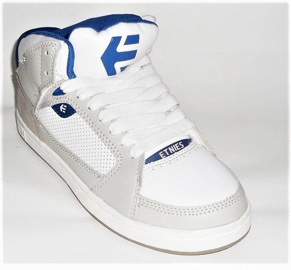 Tênis Etnies Uptown Grey/white/royal Skate Shoes