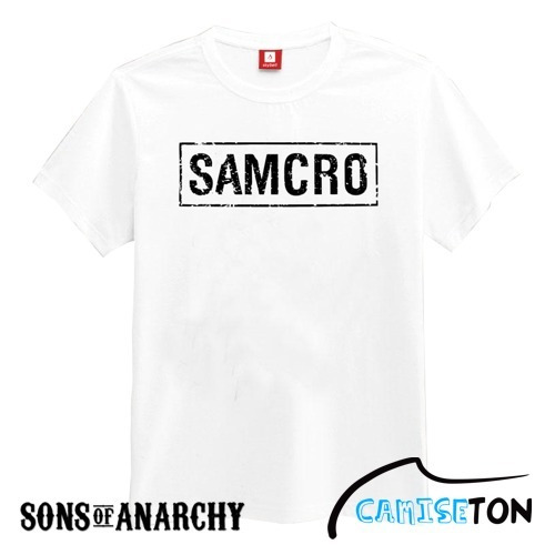 Camiseta Sons Of Anarchy (samcro) - Na Cor Branca