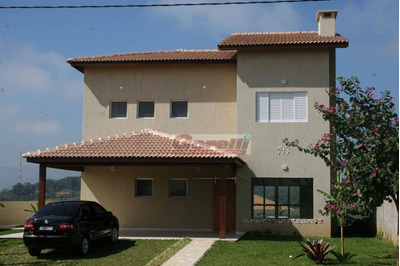 Casa Residencial À Venda, Monterey Ville, Mogi Das Cruzes. - Ca0419