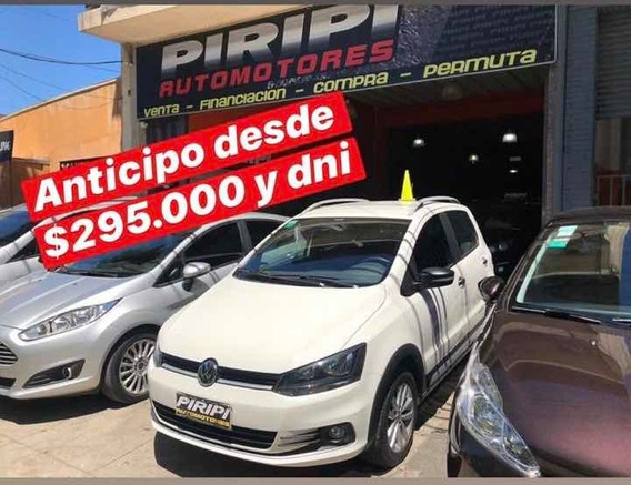 Volkswagen Fox 1.6 Track 2017, Financia Solo Con Dni Yaaaaaa