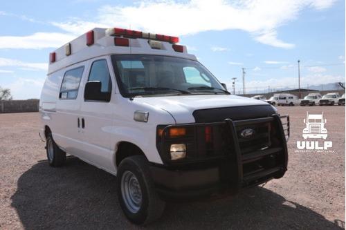 Ambulancia Ford E 150.  2009