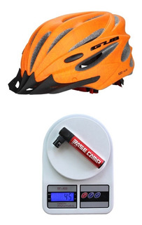 Combo Capacete E Mini-bomba Triathlon Mtb Bike 12x Cd143.172