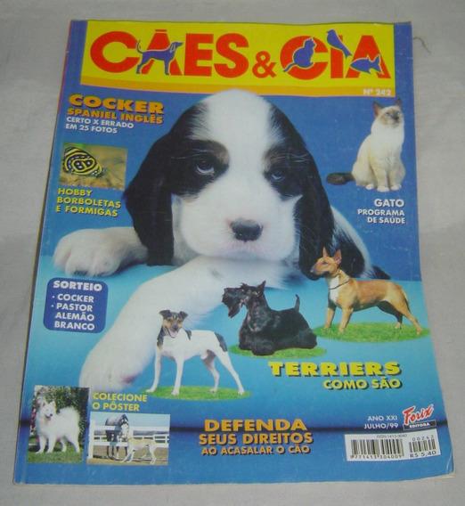 Revista Cães & Cia Nº 242 - Julho/1999