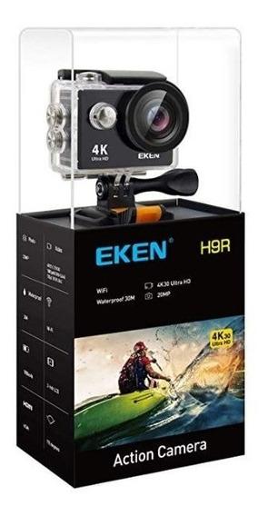 Camera Eken H9r 4k Wifi+ Cartão 32gb Classe 10