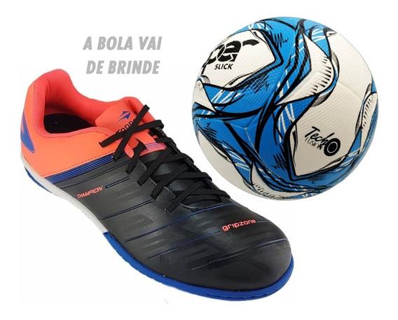 Só Tênis Futsal 43 E 44 + Bola Topper De Brinde