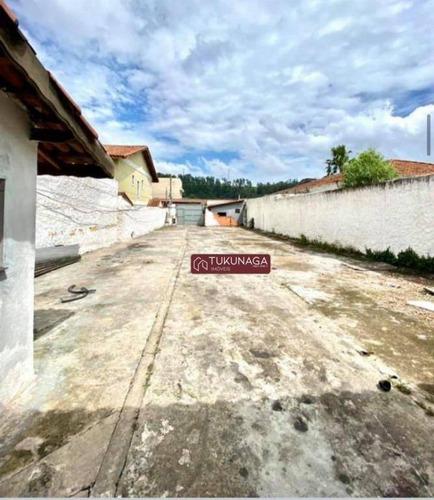Terreno, 500 M² - Venda Por R$ 899.000,00 Ou Aluguel Por R$ 6.000,00/mês - Vila Galvão - Guarulhos/sp - Te0222