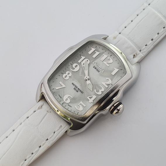 Relógio Feminino Activa Branco Swiss Movement